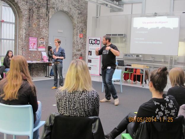 Tour des Ecoles 2014 au Pass à Frameries