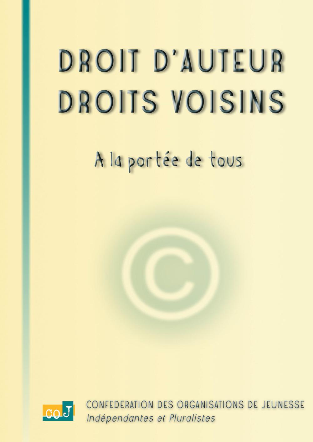 Droit d'auteur, droits voisins