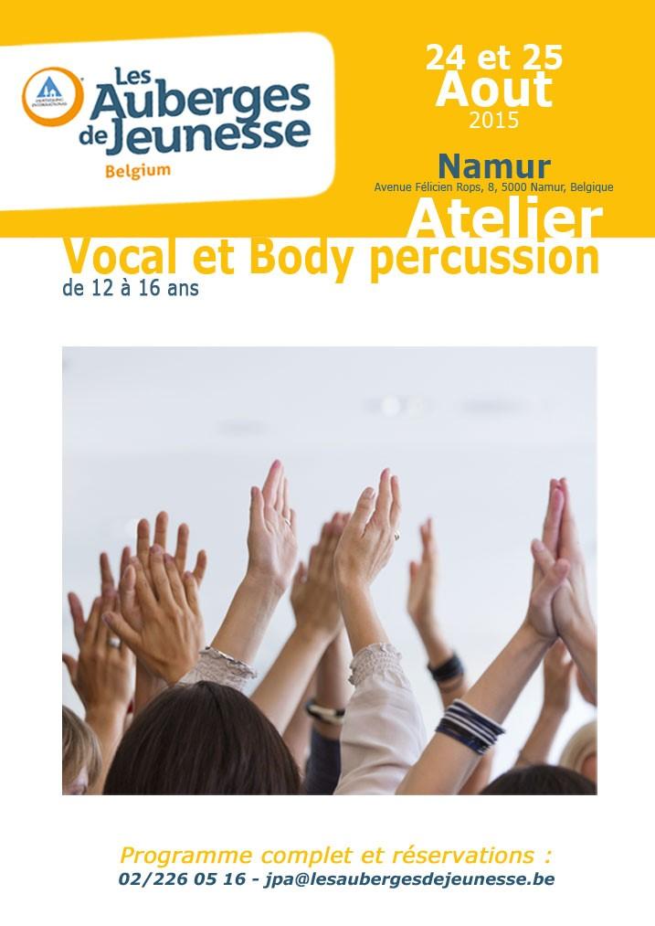 stage Namur